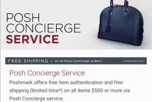 Poshmark authenticates purchases over $500