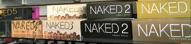 fake makeup on display